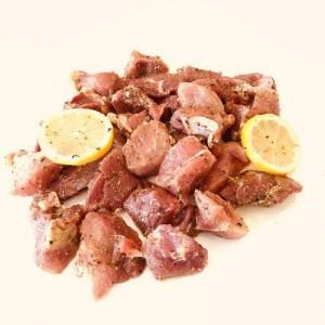 Sauteed lemon pork